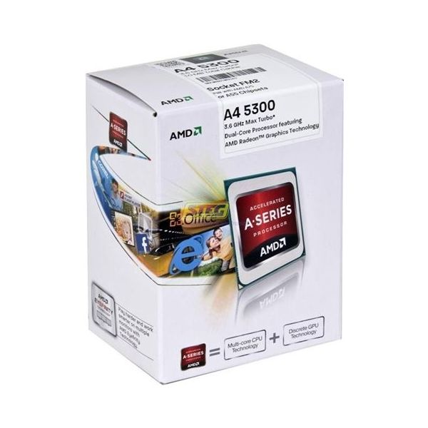 Amd A4 5300 Apu Dual Core Processor North Vancouver Acusel Computers